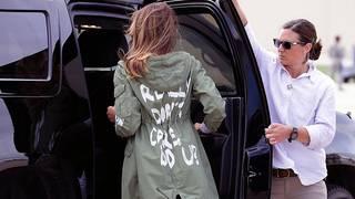 T-shirt makers riff on Melania Trump's jacket