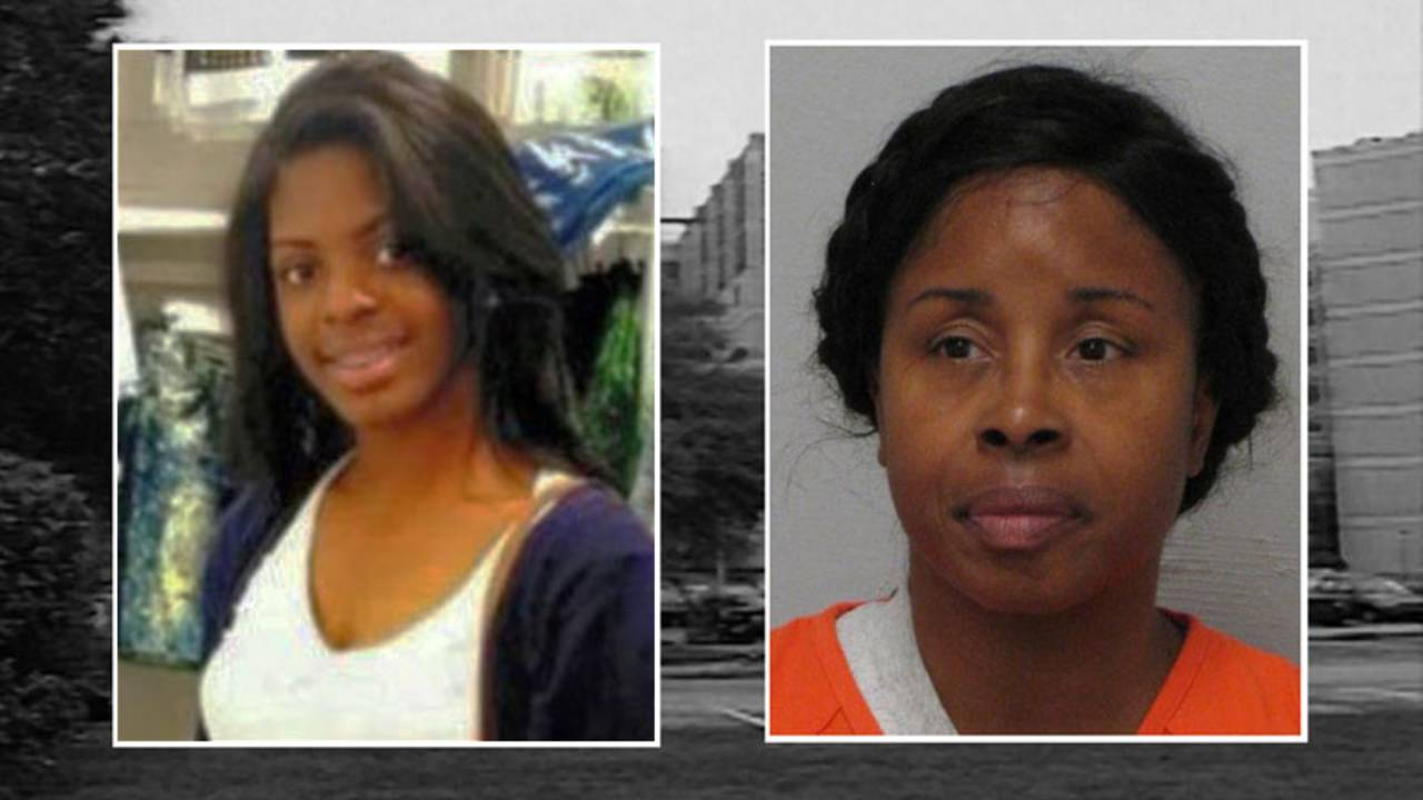 Alexis-Facebook photo and Gloria Williams JSO booking photo