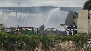 Warehouse full of wood catches fire in northwest Miami-Dade County