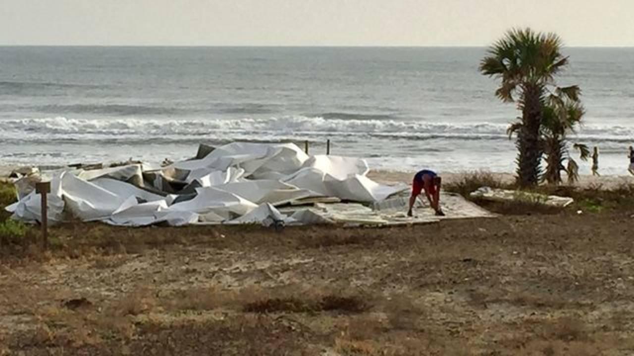 Mayan Inn Daytona Beach roof near beach