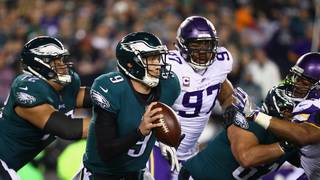 Foles, Eagles rout Vikings, will face Patriots in Super Bowl