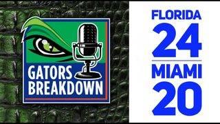 Gators Breakdown: Game Reaction | Florida 24 Miami 20