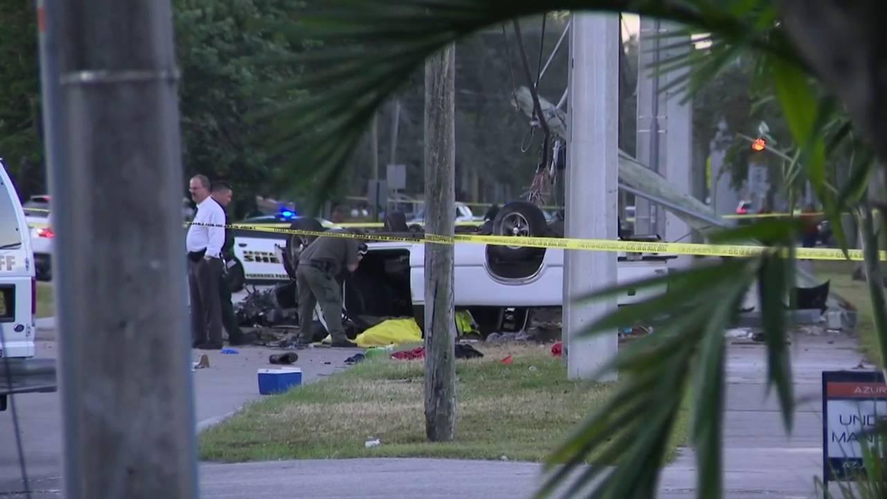Deputies investigate homicide, crash in Pembroke Park