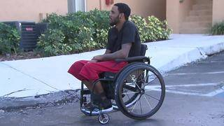 Miami Heat purchases new wheelchair for Margate man after his was stolen
