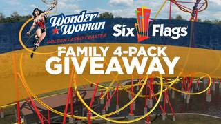Win a Family 4-Pack to Six Flags Fiesta Texas!