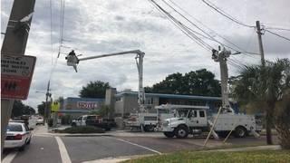 Power outage causes traffic headache near downtown Orlando