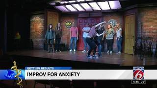 Improv group helps people with anxiety