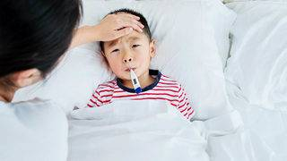 When do you know if your child is too sick for school?