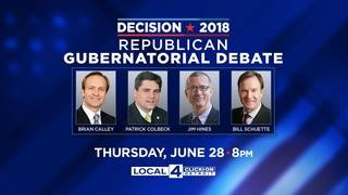WDIV-Local 4, Michigan Republican Party to host Republican gubernatorial debate