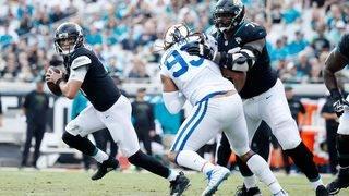 Jaguars show up on defense, shut down Luck, Colts 6-0