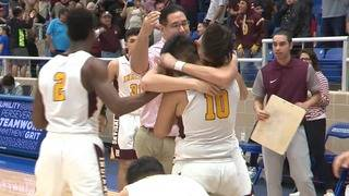 WATCH: Buzzer-beater shot from half-court helps send Harlandale to next&hellip&#x3b;