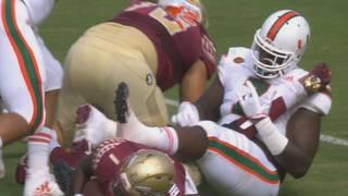 Hurricanes defensive tackles Kendrick Norton, RJ McIntosh declare for NFL draft