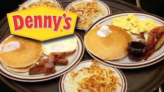 Denny's giving away free breakfast through January