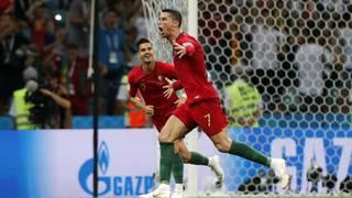 Ronaldo scores hat trick, Portugal draws 3-3 with Spain