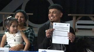 Memorial's Jose Perez shares story of success