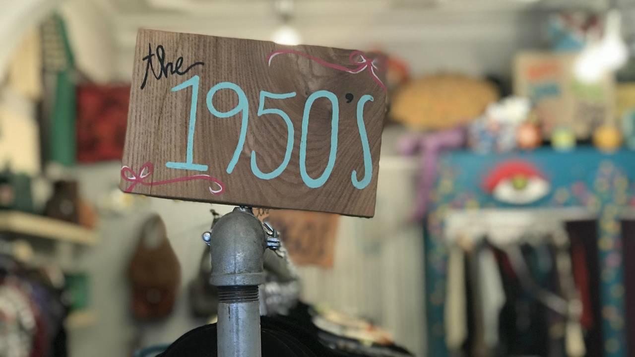 The Getup Vintage sign