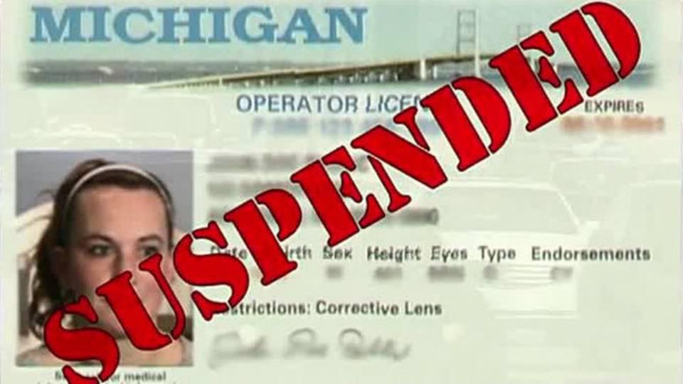 Jessica Preston suspended driver's license