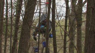 Lawsuit aims to give medical care to tree-sitter