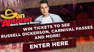 San Antonio Stock Show & Rodeo Russell Dickerson Giveaway