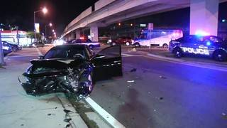 Woman injured in hit-and-run crash in Hialeah