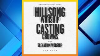 Hillsong Worship, Casting Crowns, Elevation Worship bring