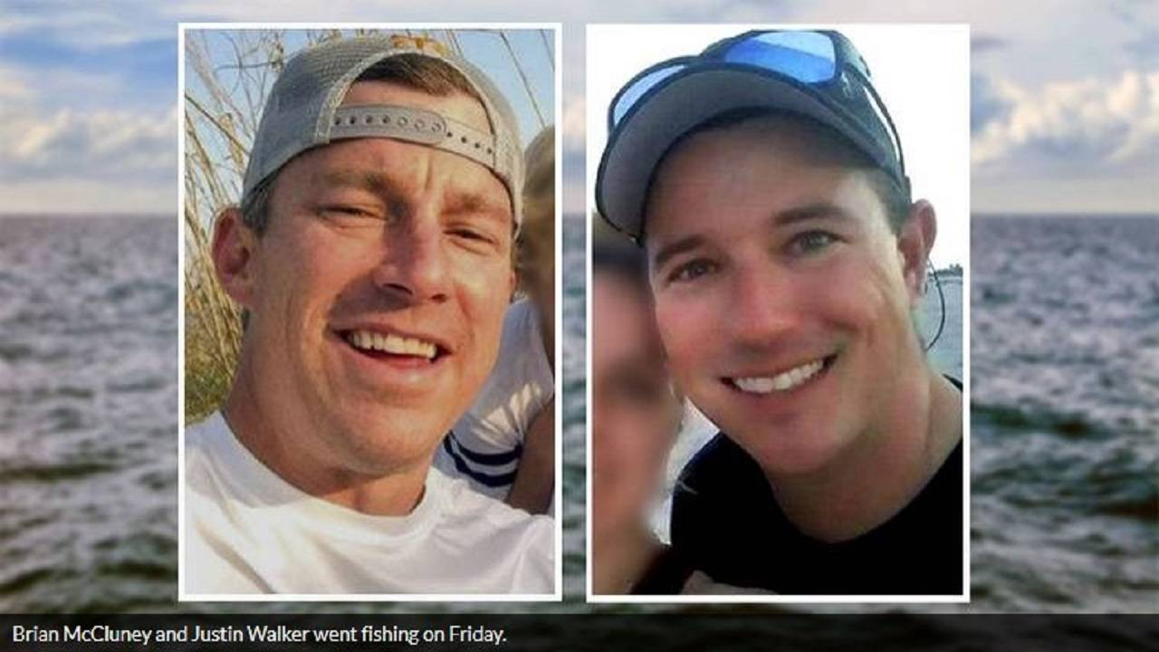 Brian McCluney and Justin Walker missing boaters
