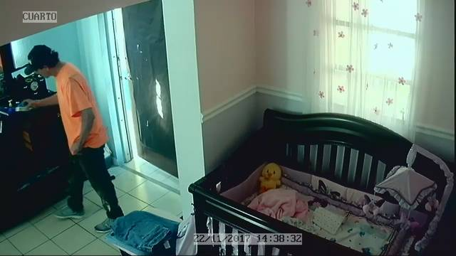 Miami burglar inside home