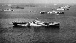 Remains of another WWII aircraft carrier found