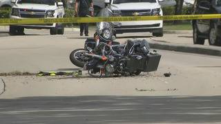 Doral police motorman airlifted to JMH after crash, police say