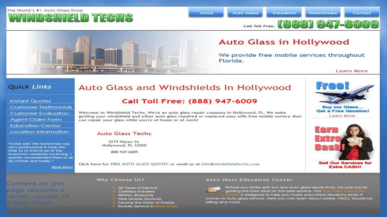 Couple gets runaround from auto-glass company, ask Call