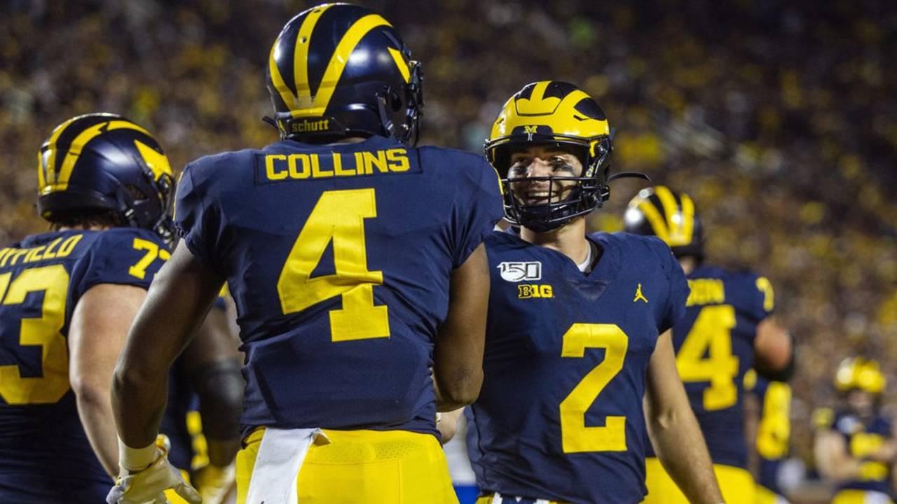 promo code 7586b cf357 Michigan football will be dangerous if Shea Patterson can get...