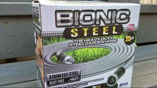 As seen on TV: Consumer expert Amy Davis tests the Bionic Steel Hose