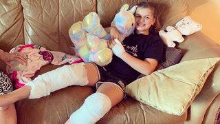 Girl bitten by shark at Crescent Beach while celebrating her 10th birthday