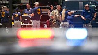 Shooter Photographed by Reporter Moments Before Opening Fire Outside…