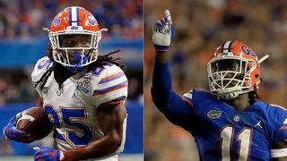 2 more Gators declare for NFL draft