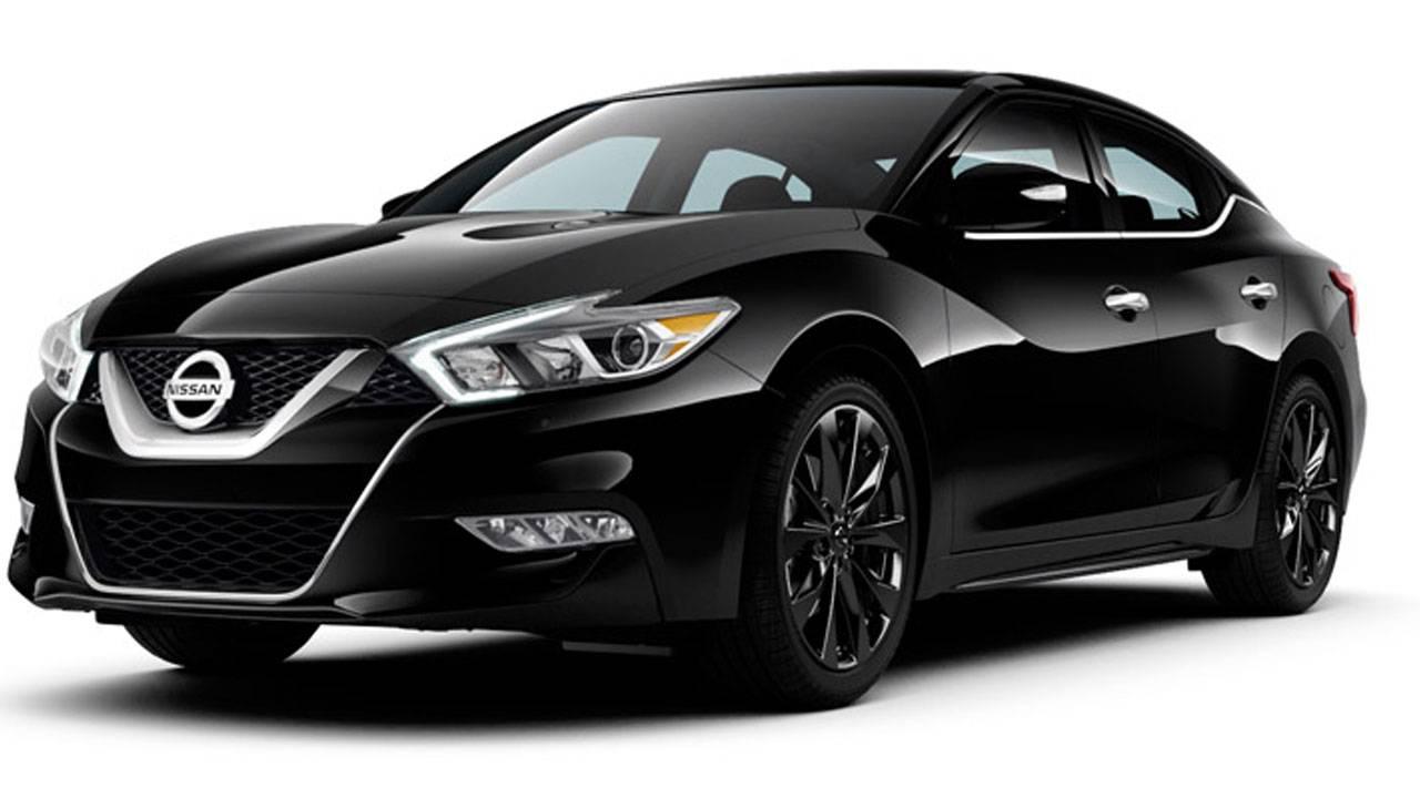 2017 black Nissan Altima