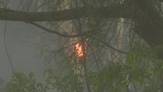 Brush fires and smoke shut down road to Florida Keys