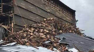 Bourbon warehouse collapses at Kentucky distillery