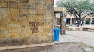 Images: San Antonio Missions defaced with graffiti
