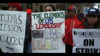 Chicago charter school teachers have walked off the job in a&hellip&#x3b;