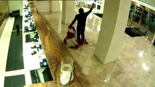Dramatic security video captures gunfight at Trump resort in Doral
