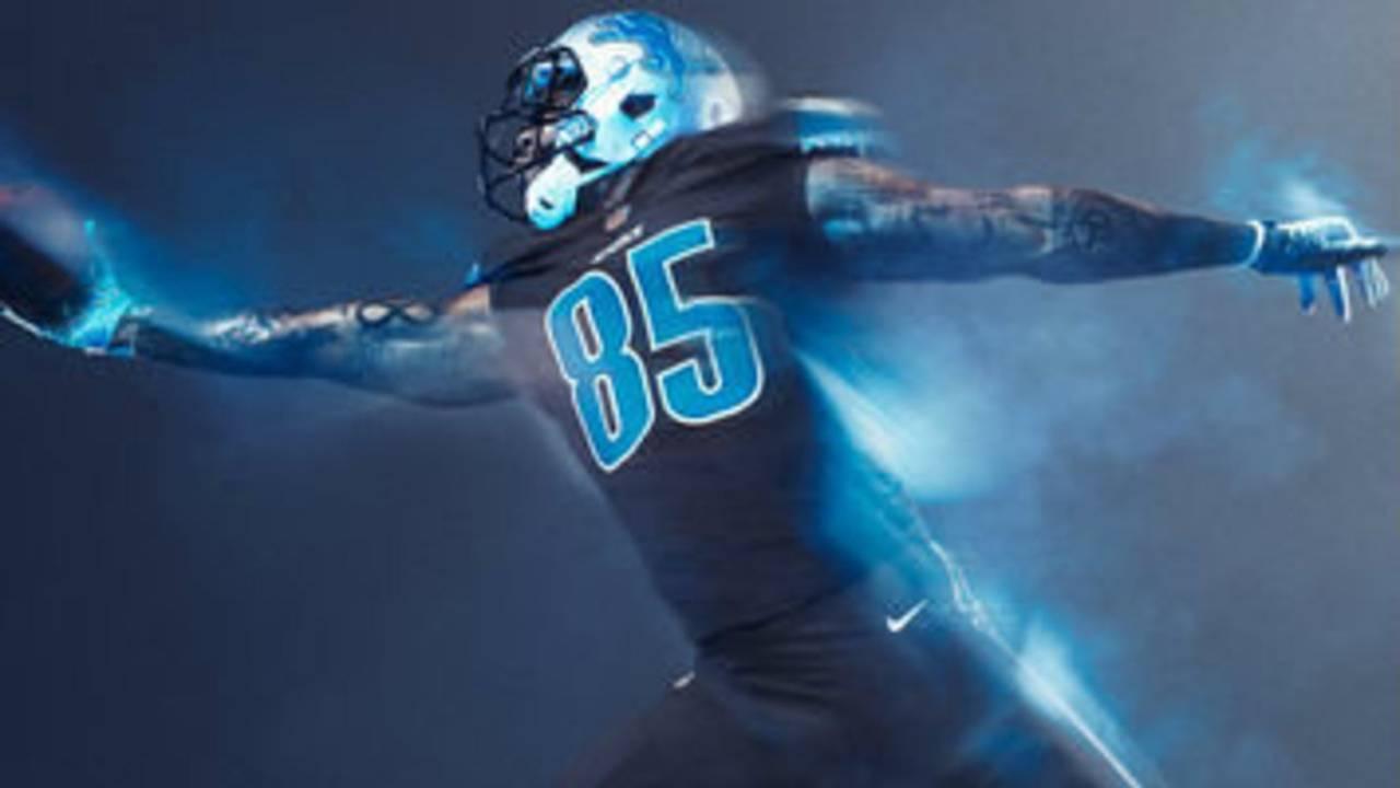 11f65503e Detroit Lions unveil new  Color Rush  jersey