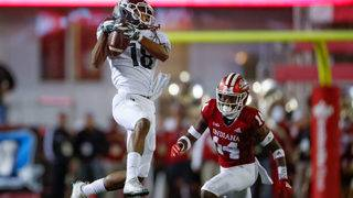 No. 24 Michigan St. gets tricky to hold off Indiana 35-21