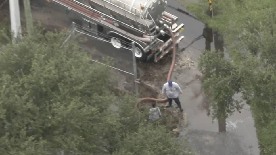 Water main break affecting oakland park