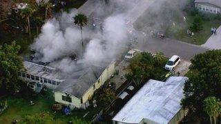 Child, adult suffer burn injuries in Cocoa mobile home fire, officials say