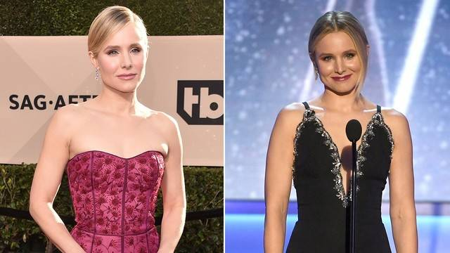 Kristen Bell Hosts 2018 SAG Awards in Series of Gowns: See the...