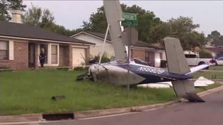 Pilot walks away from emergency landing
