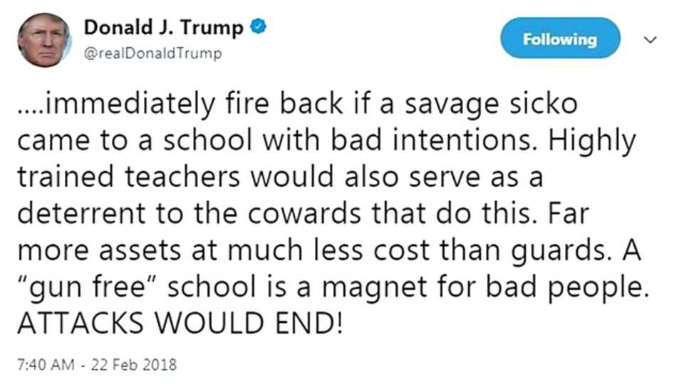 Trump savage sicko tweet44223850