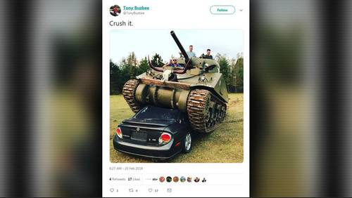High-profile attorney Tony Buzbee will give his WWII tank to Texas A&M