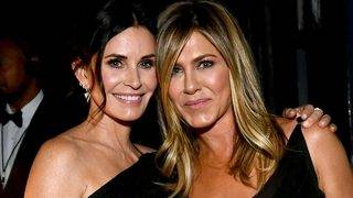 Courteney Cox Welcomes Jennifer Aniston to Instagram: 'You're Gonna…